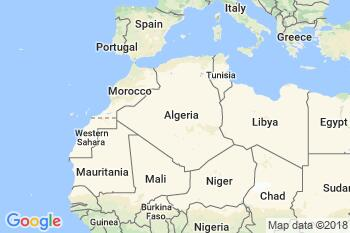 FPO Algeria static map